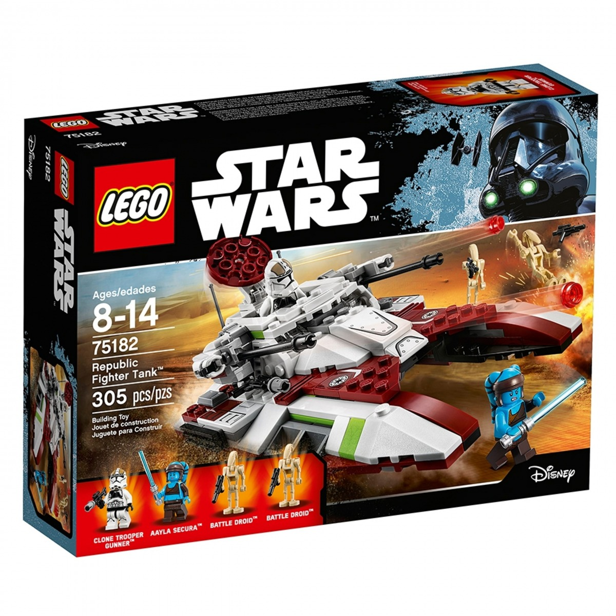 lego 75182 republic fighter tank scaled