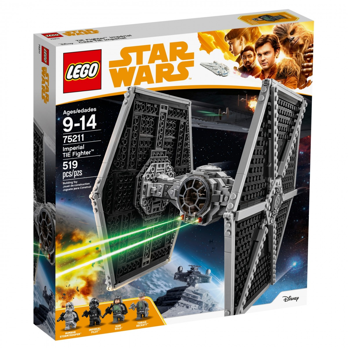 lego 75211 le tie fighter imperial scaled