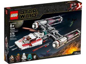 lego 75249 y wing starfighter de la resistance