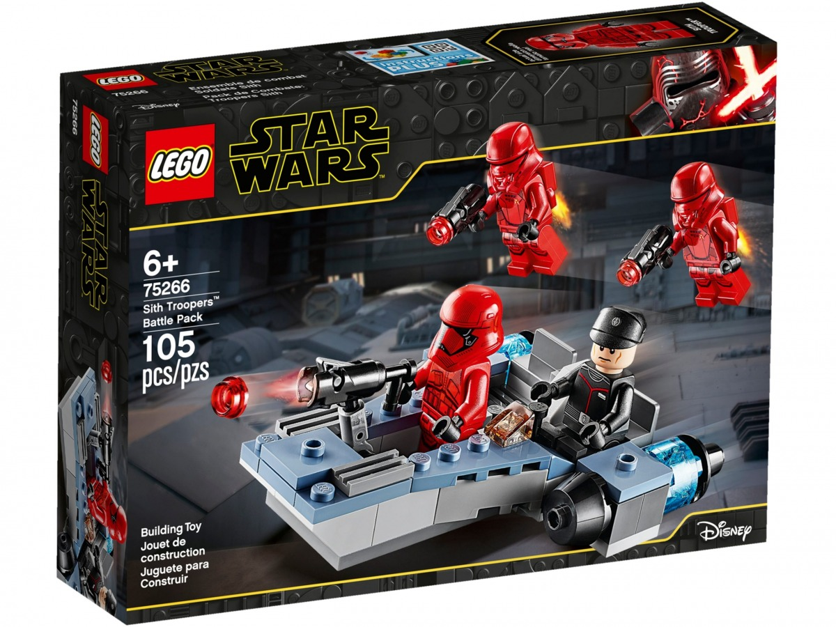 lego 75266 coffret de bataille sith troopers scaled