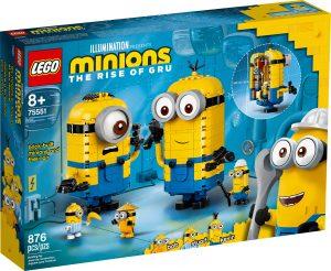 lego 75551 les maxi figurines minions et leurs repaires