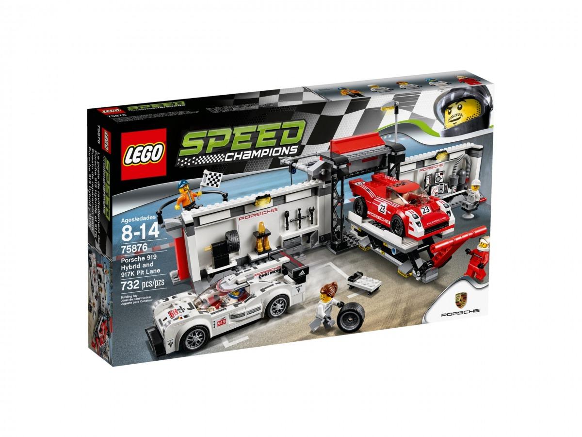 lego 75876 le stand de la porsche 919 hybrid et 917k scaled