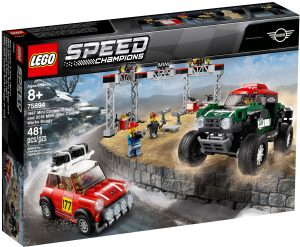 lego 75894 mini cooper s rally 1967 et mini john cooper works buggy 2018