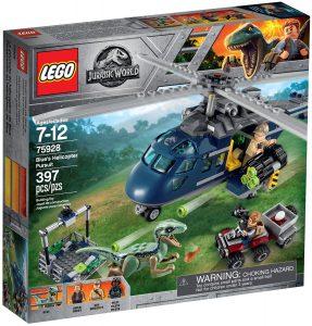 lego 75928 la poursuite en helicoptere de blue