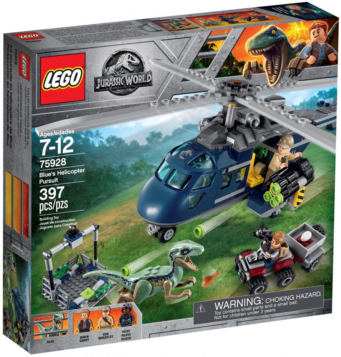lego 75928 la poursuite en helicoptere de blue scaled