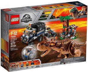lego 75929 le carnotaurus et la fuite en gyrosphere