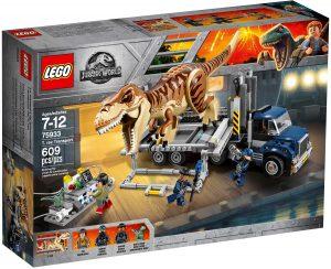 lego 75933 le transport du t rex