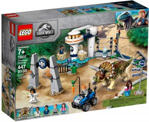 lego 75937 la fureur du triceratops