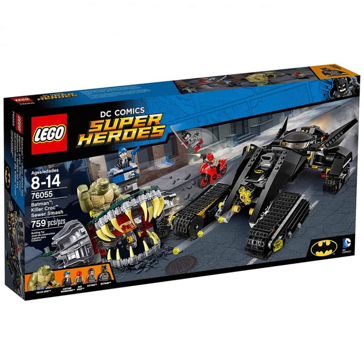 lego 76055 batman choc dans les egouts avec killer croc scaled