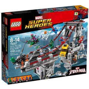 lego 76057 spider man le combat supreme sur le pont des web warriors
