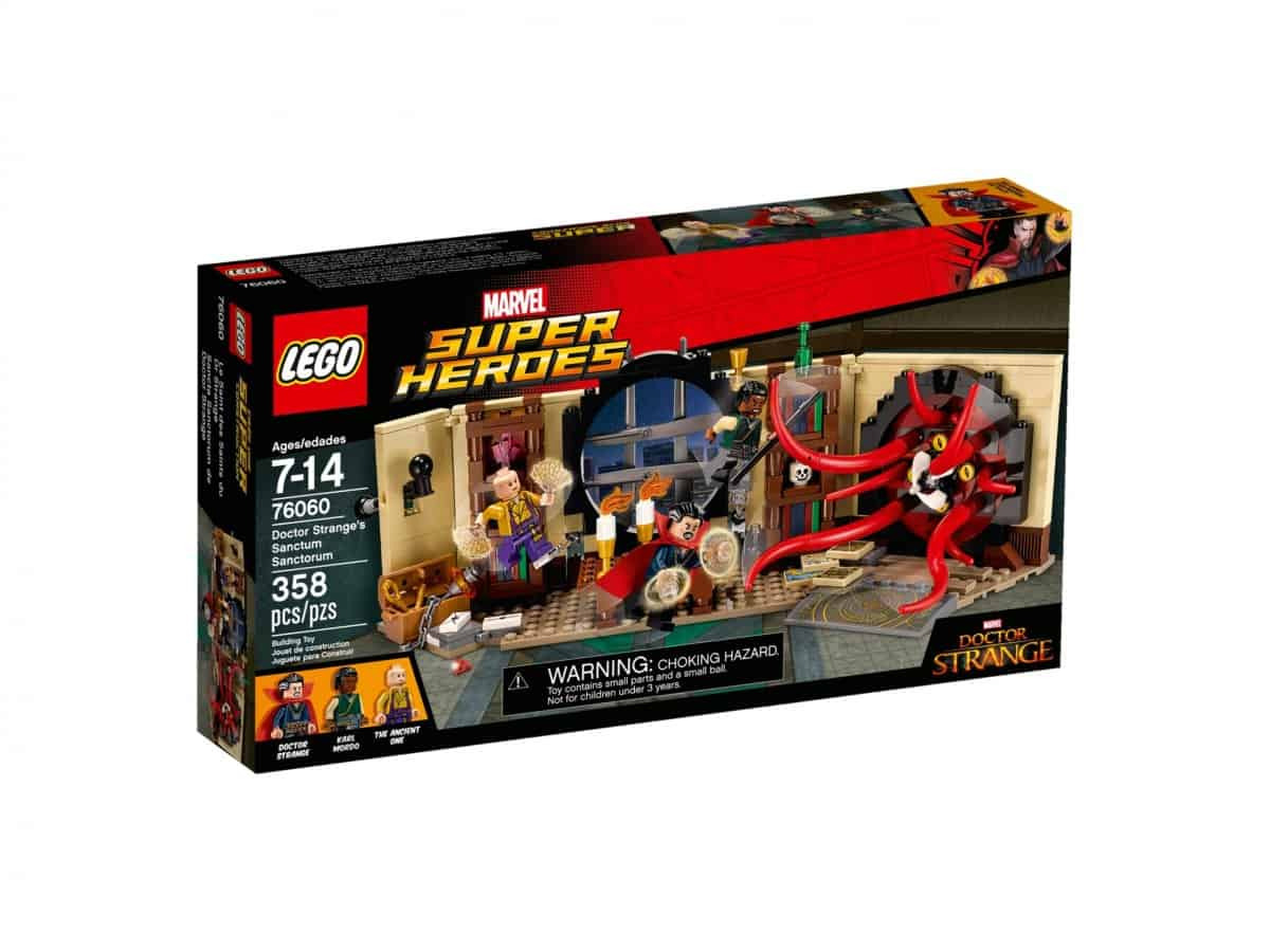 lego 76060 le saint des saints du dr strange scaled