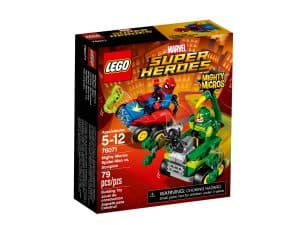 lego 76071 mighty micros spider man contre scorpion