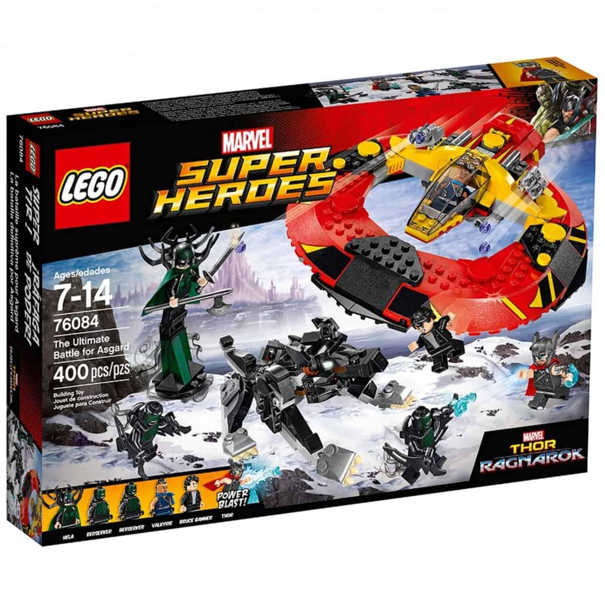 lego 76084 la bataille supreme pour la survie dasgard scaled