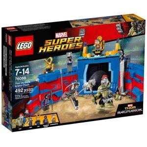 lego 76088 thor contre hulk le combat dans larene