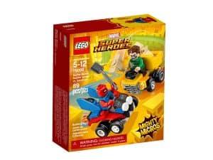 lego 76089 mighty micros scarlet spider contre sandman