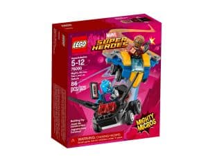 lego 76090 mighty micros star lord contre nebula