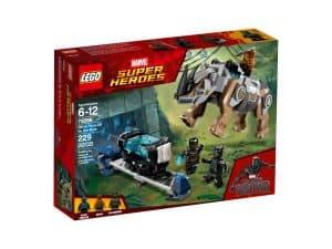 lego 76099 black panther contre killmonger le combat dans la mine