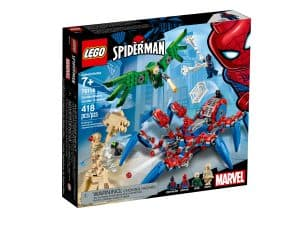 lego 76114 le vehicule araignee de spider man