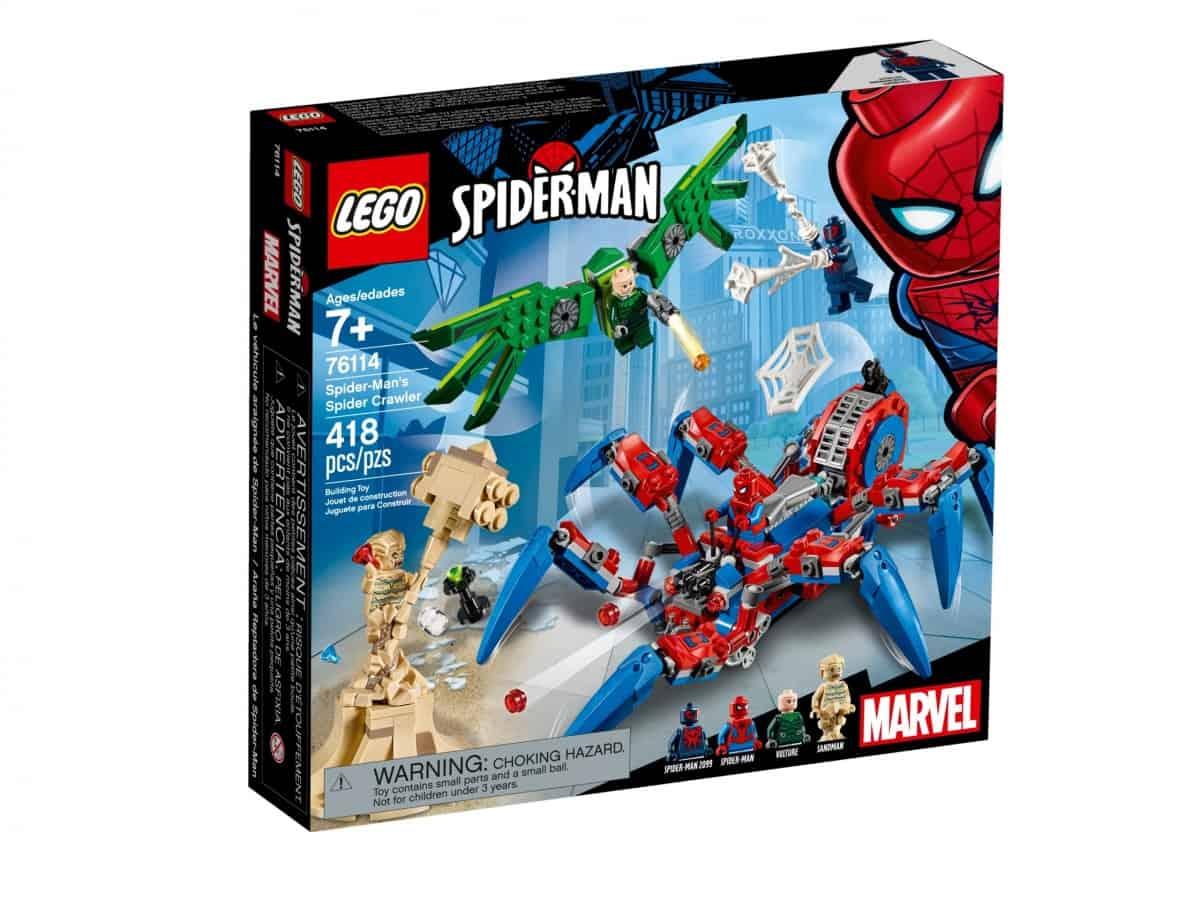 lego 76114 le vehicule araignee de spider man scaled