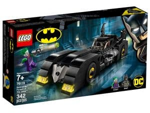 lego 76119 batmobile la poursuite du joker