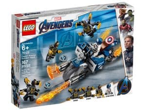 lego 76123 captain america et lattaque des outriders