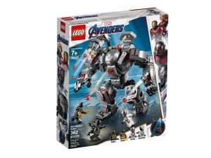 lego 76124 larmure de war machine