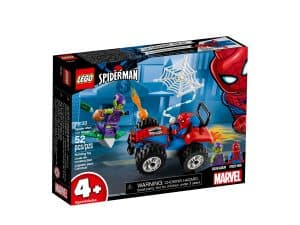 lego 76133 spider man et la course poursuite en voiture