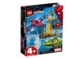 lego 76134 spider man docteur octopus et le vol du diamant