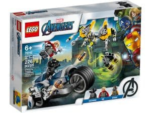 lego 76142 lattaque du speeder bike des avengers