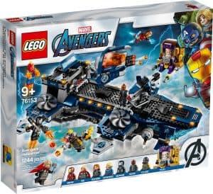 lego 76153 lheliporteur des avengers
