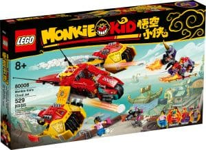 lego 80008 lavion de monkie kid