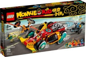 lego 80015 la decapotable de monkie kid