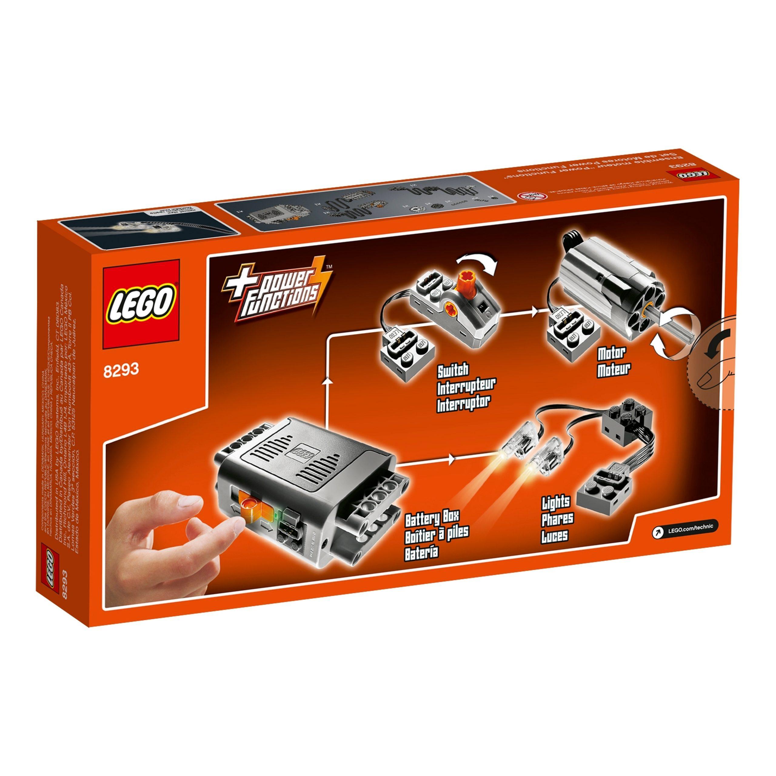 lego 8293 ensemble power functions scaled