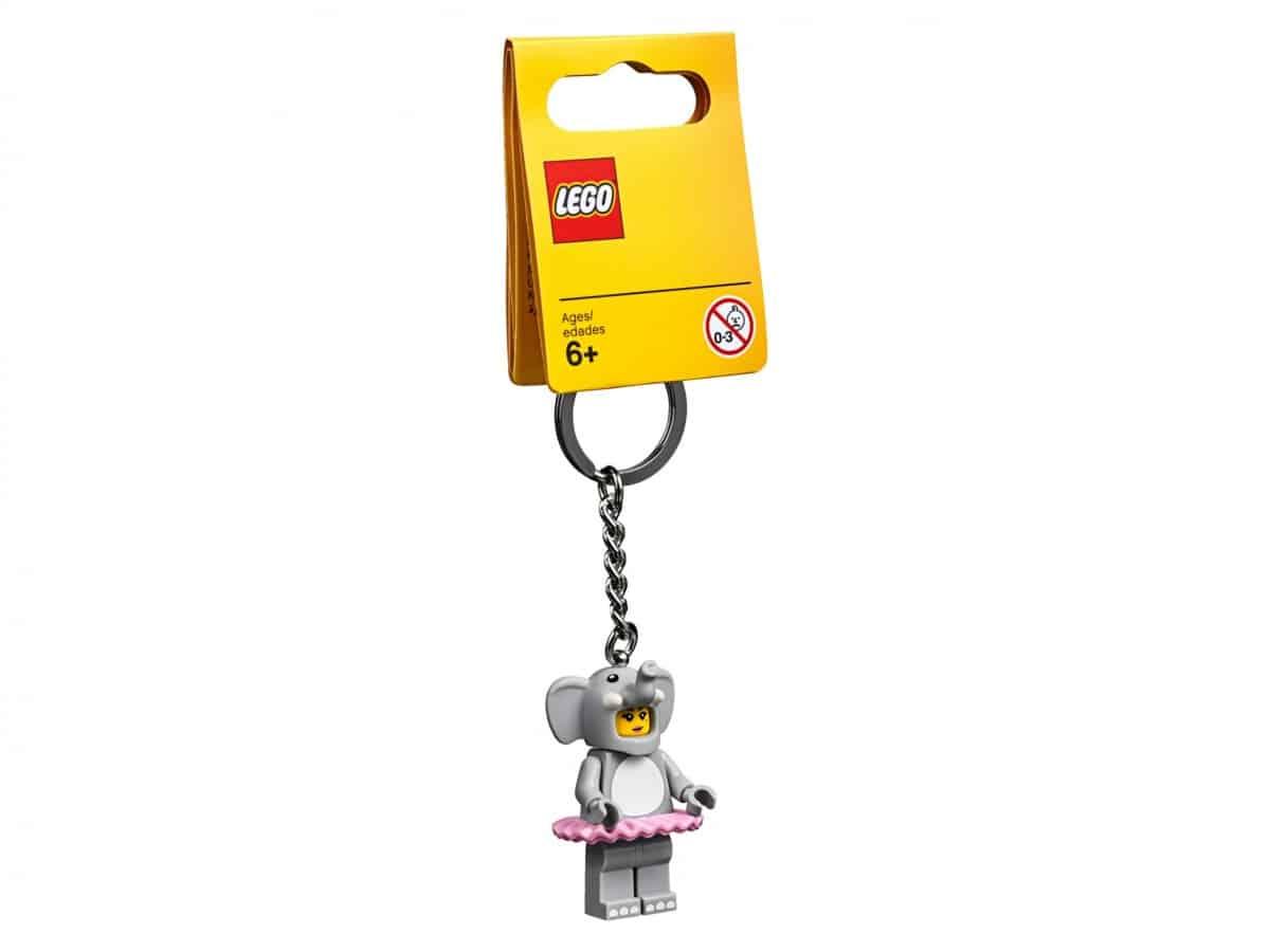 lego 853905 porte cles fille elephant scaled