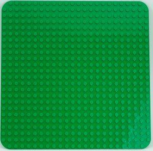 plaque de base lego 2304 duplo 2304 verte