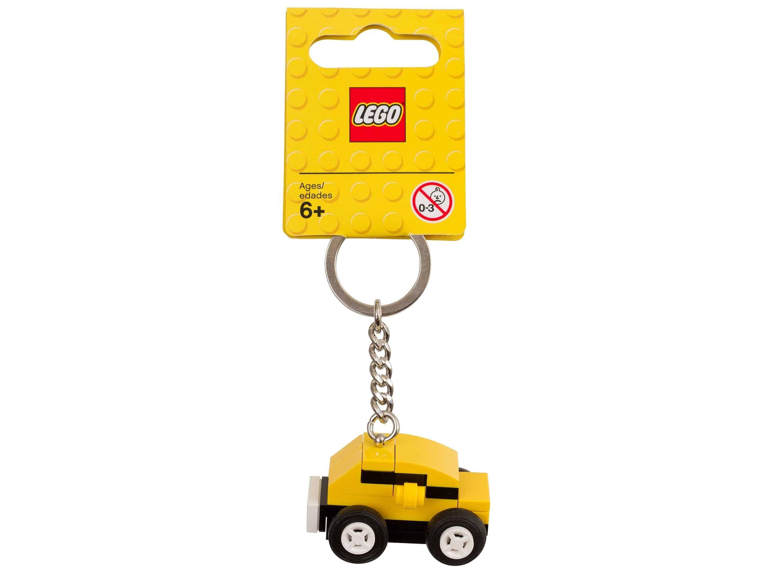 porte bonheur voiture jaune lego 853573 scaled
