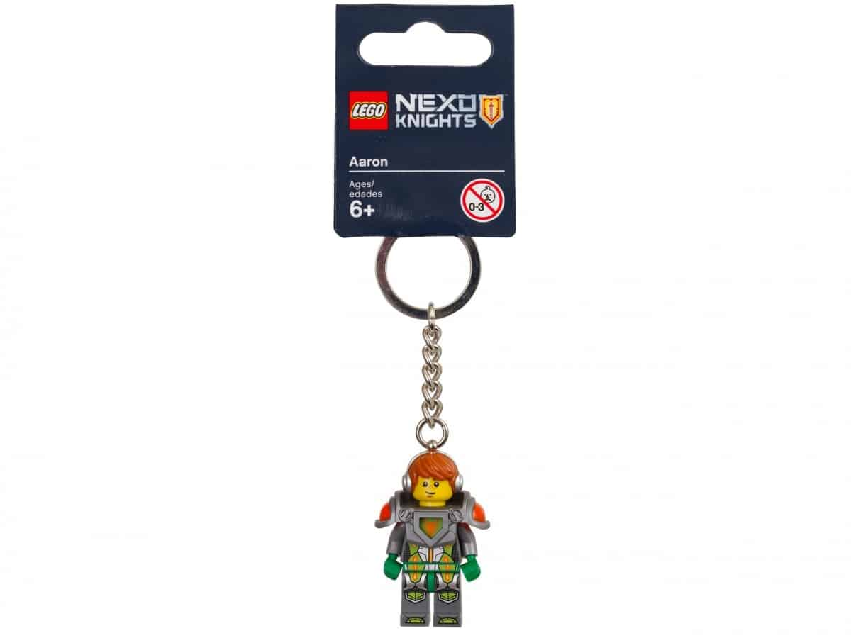 porte cles aaron lego 853520 nexo knights scaled