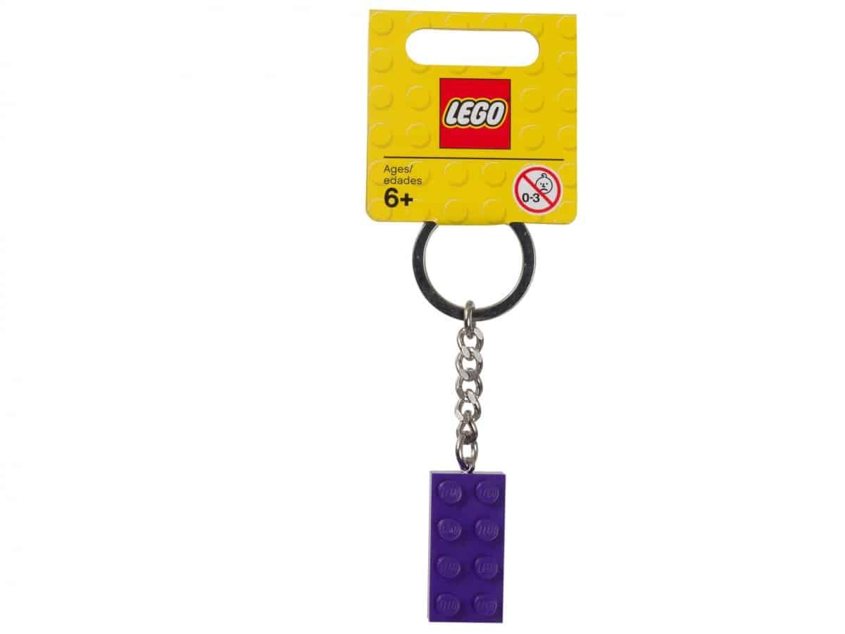 porte cles brique violette lego 853379 scaled