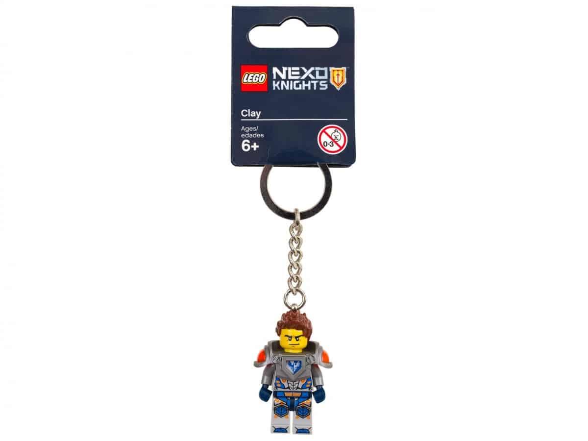 porte cles clay lego 853521 nexo knights scaled