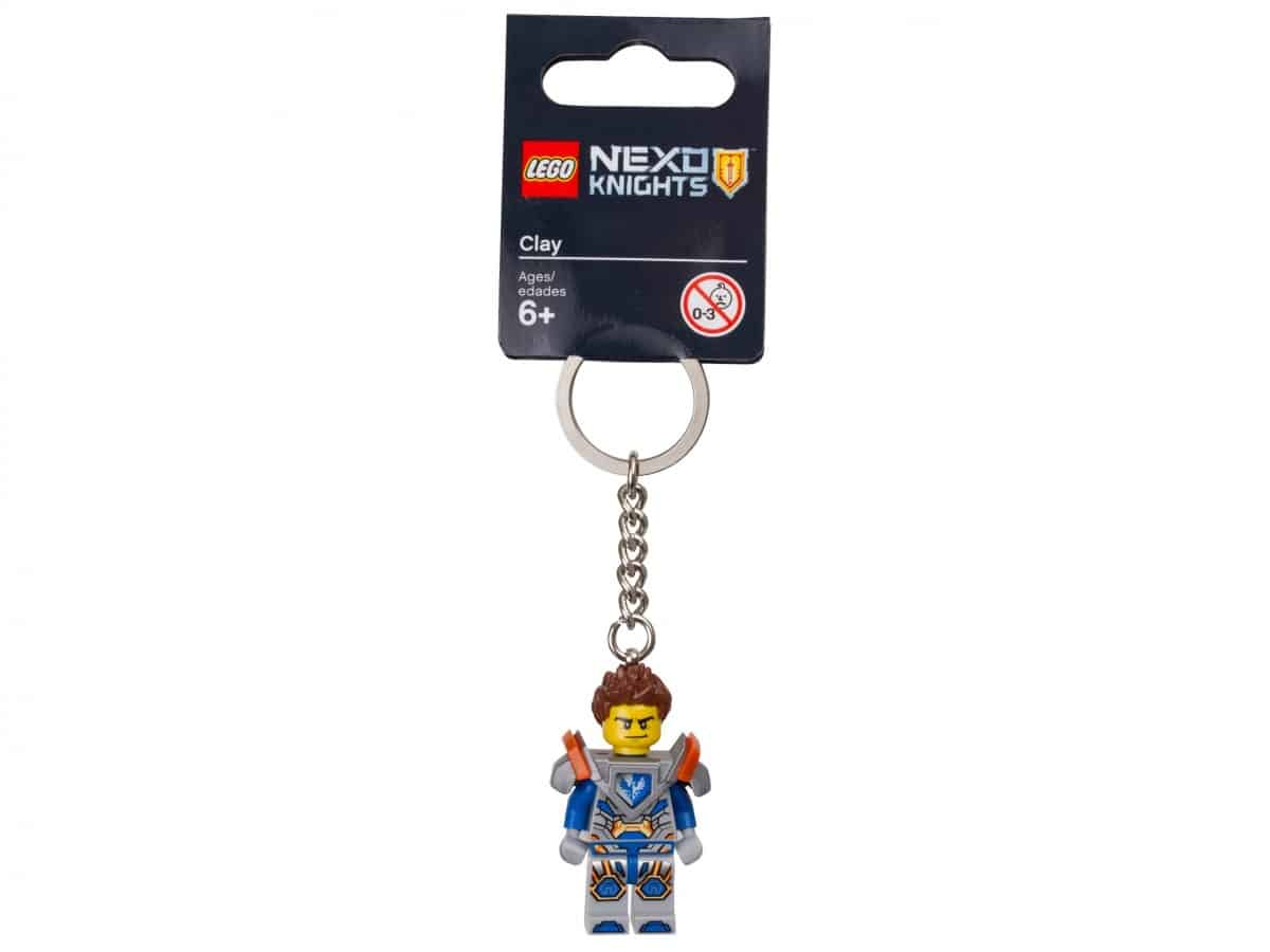 porte cles clay lego 853686 nexo knights scaled