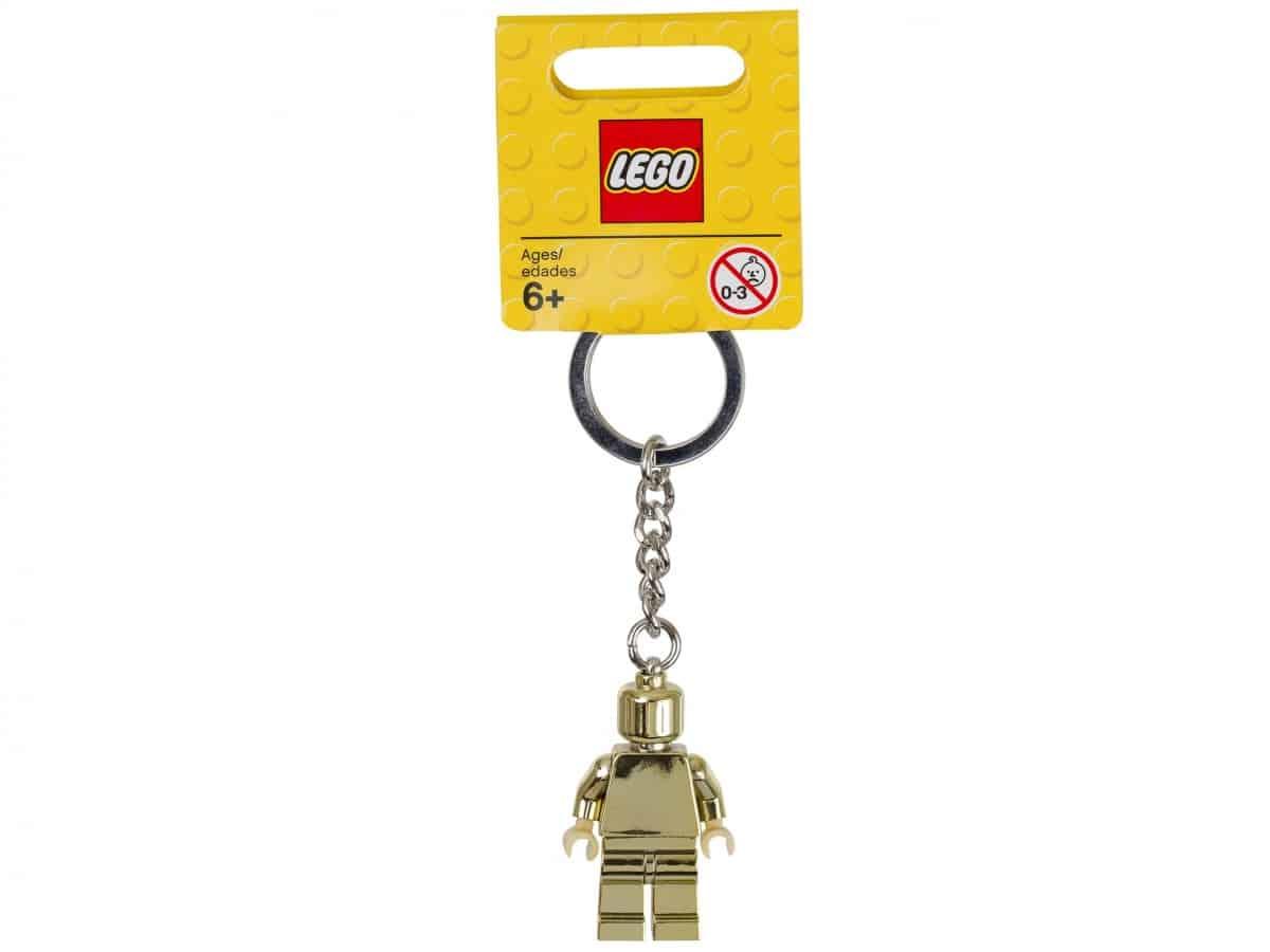 porte cles figurine doree lego 850807 scaled