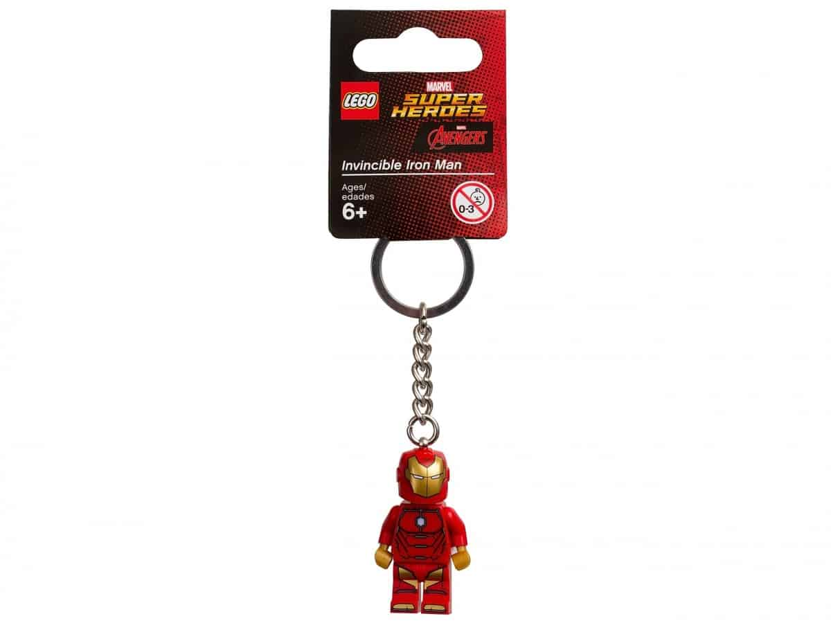 porte cles invincible iron man lego 853706 marvel super heroes scaled