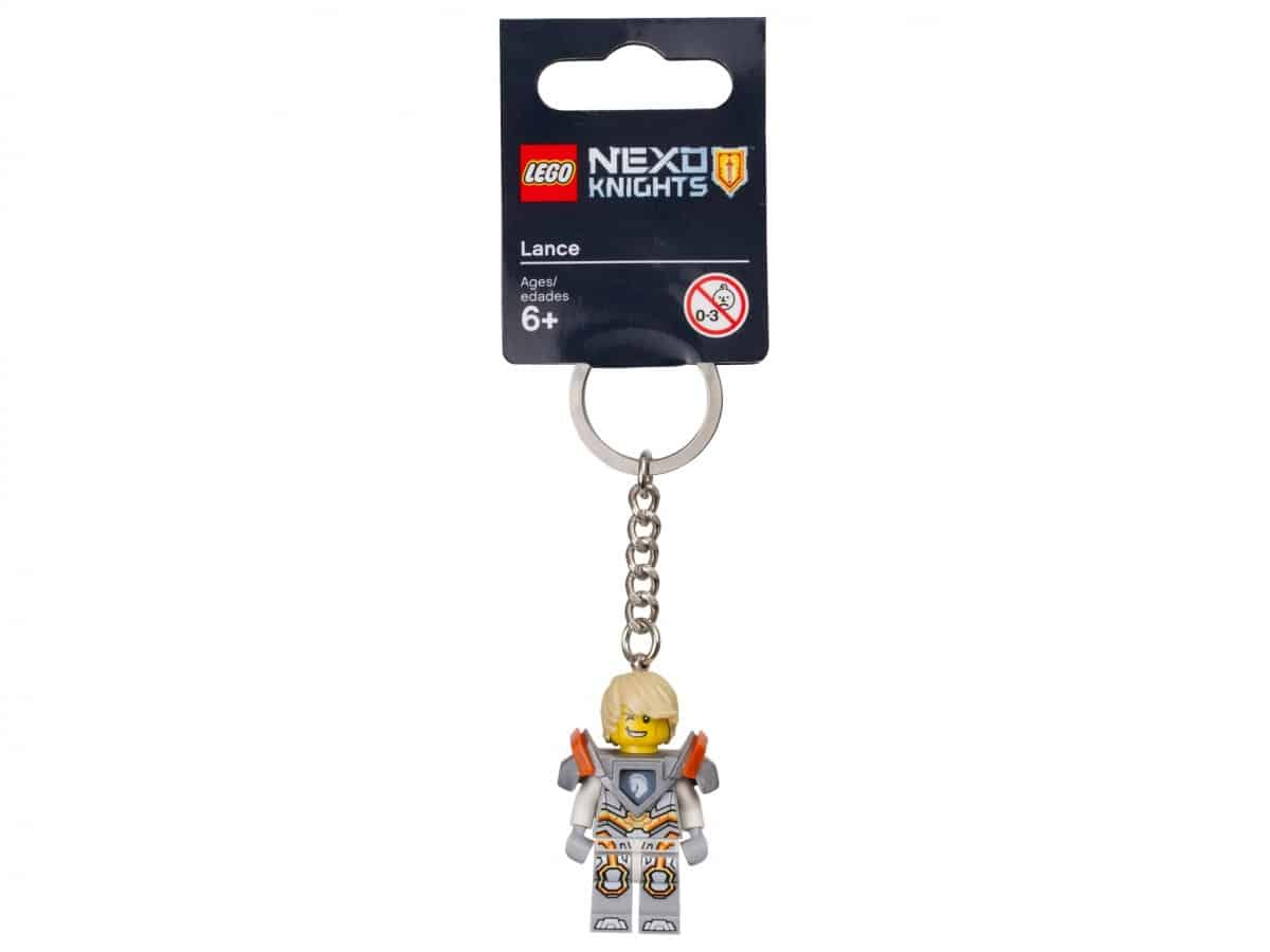 porte cles lance lego 853684 nexo knights scaled