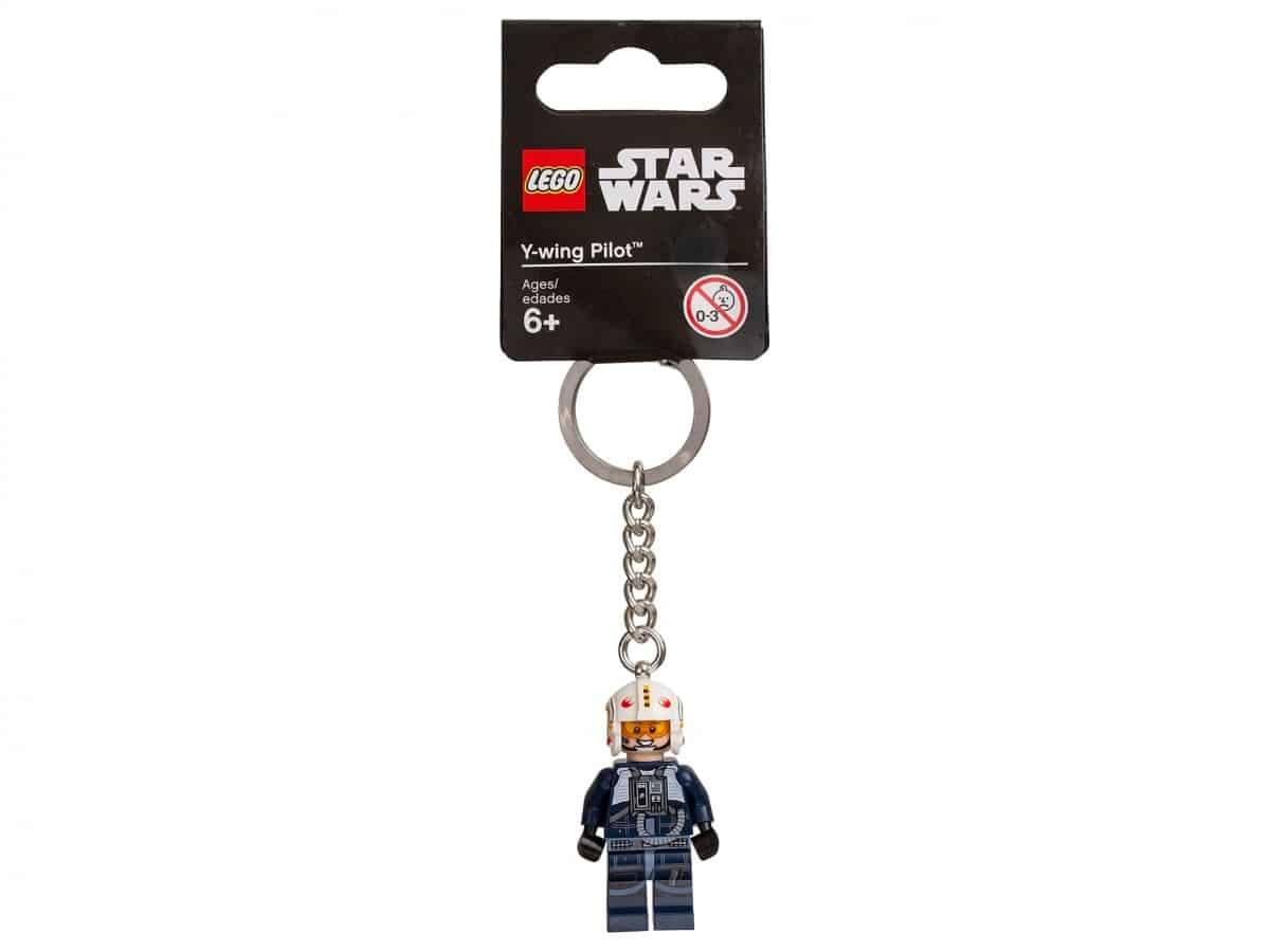 porte cles y wing pilot lego 853705 star wars scaled