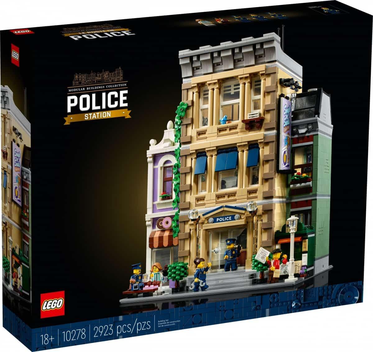 LEGO 10278 Le Commissariat de police