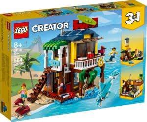 lego 31118 la maison sur la plage du surfeur