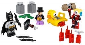 lego 40453 batman contre le pingouin et harley quinn