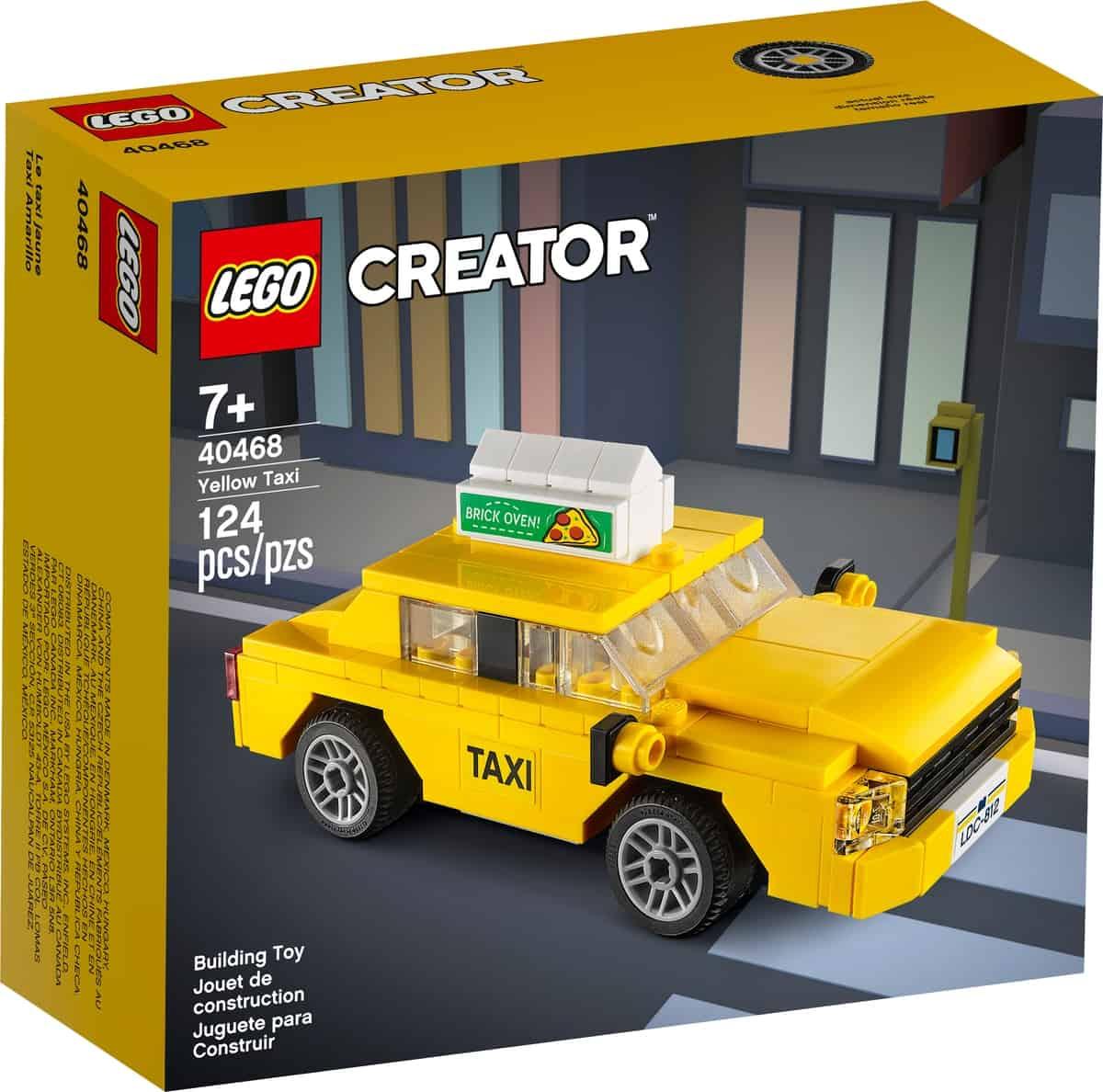 lego 40468 le taxi jaune