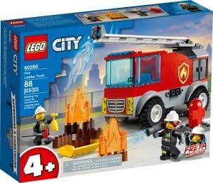 lego 60280 le camion des pompiers avec echelle