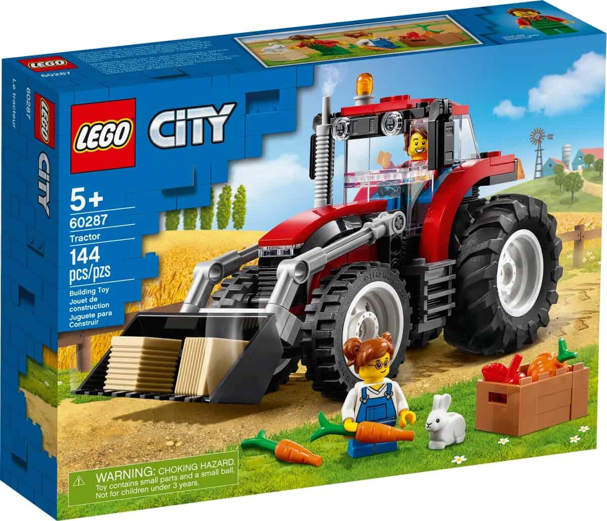 lego 60287 le tracteur
